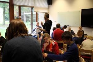 Hacklab workshop in progress 2
